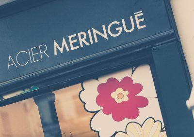 Showroom Acier Meringué